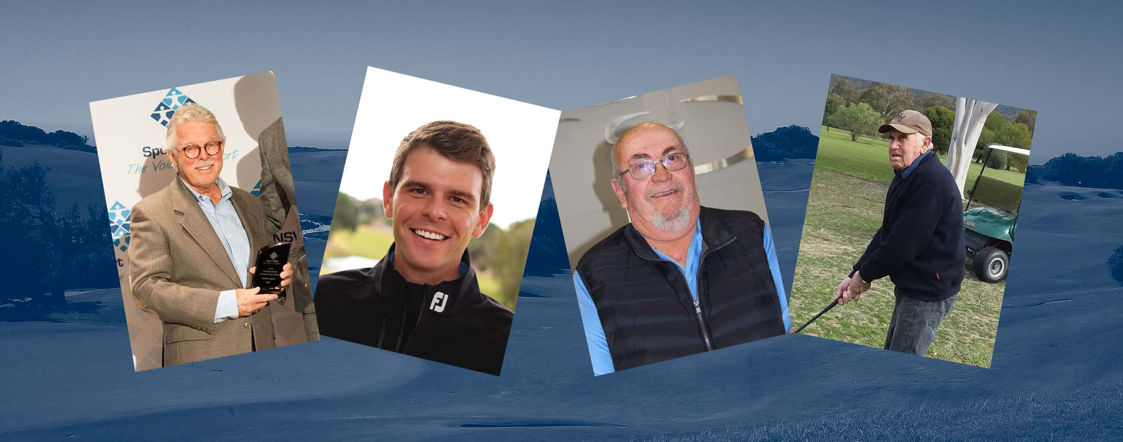 Four finalists honoured for Service to Golf